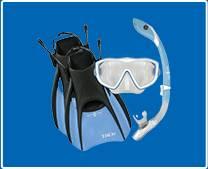 Aqua Lung Mask + Snorkel